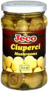 Conserve ciuperci | Conserva ciuperci feliate Jeco | Oferta Pret | Viostel