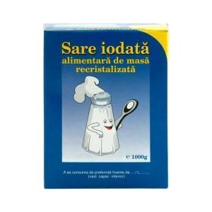 Poza 1 Sare iodata alimentara de masa recristalizata 1 kg
