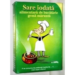Poza 1 Sare iodata alimentara de bucatarie gema marunta 1KG