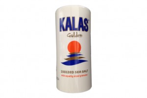 Poza 1 Sare Kalas Golden cilindric 250g