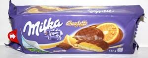 Poza 1 Biscuiti Milka ChocoJaffa Portocala 147g