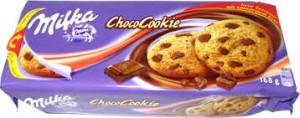 Poza 1 Fursecuri Milka ChocoCookie Bucatele Ciocolata 135g