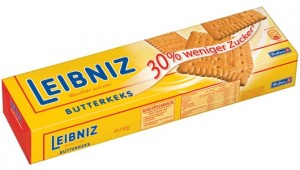 Poza 1 Biscuiti Leibniz 30% mai putin zahar 150g