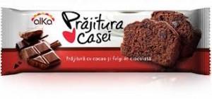 Poza 1 Prajitura Casei Alka Cacao si Fulgi Ciocolata 300g