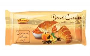 Poza 1 Croissant Boromir Crema Vanilie si Caise 60g