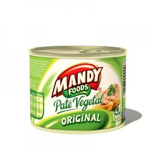Poza 1 Pate Vegetal Mandy Original 200g