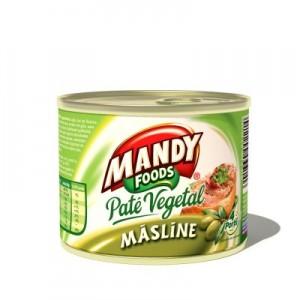 Poza 1 Pate Vegetal Mandy Masline 200g