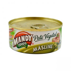 Poza 1 Pate Vegetal Mandy Masline 120g