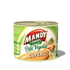 Poza 1 Pate Vegetal Mandy Ciuperci 200g