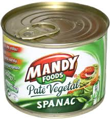 Poza 1 Pate Vegetal Mandy Spanac 200g