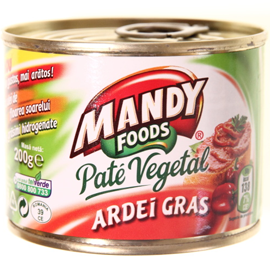 Poza 1 Pate Vegetal Mandy Ardei Gras 200g