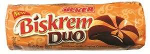 Poza 1 Biscuiti Biskrem Crema Cacao Duo 130g