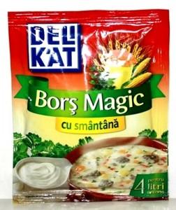Poza 1 Delikat Bors magic cu smantana 40g
