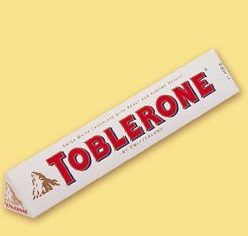 Poza 1 Toblerone Ciocolata Alba 100g