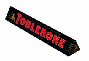 Poza 1 Toblerone Ciocolata Neagra 100g