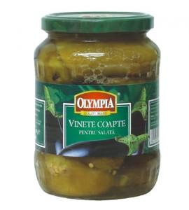 Poza 1 Vinete Coapte pentru Salata Olympia Borcan 580g