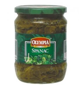 Poza 1 Spanac Olympia Frunze Borcan 580g