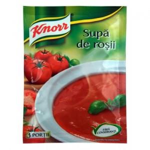 Poza 1 Supa Instant Rosii cu Paste Knorr 70g