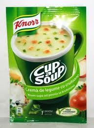 Poza 1 Supa Crema Legume cu Crutoane Instant Knorr 16g