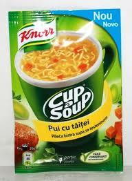 Poza 1 Supa Instant Pui cu Taitei Knorr 12g