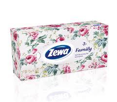 Poza 1 Servetele Faciale Zewa Family 90 servetele-3 straturi