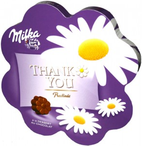Praline Ciocolata Milka Thank You 150g