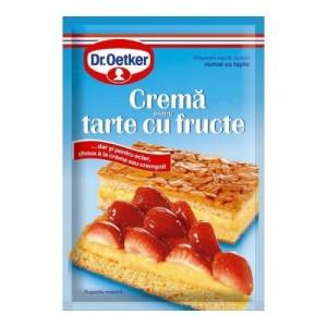 Poza 1 Crema pentru Tarte cu Fructe Dr. Oetker 55g
