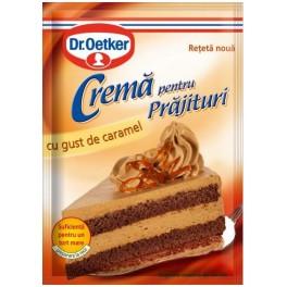 Poza 1 Crema pentru Prajituri cu gust de Caramel Dr. Oetker 55g