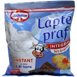 Poza 1 Lapte Praf Integral Dr. Oetker 26% grasime 250g