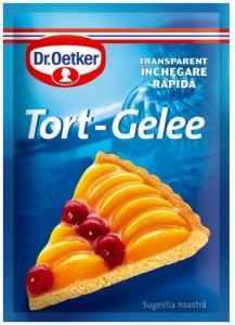 Poza 1 Tort-Gelee Transparent Dr. Oetker 8g
