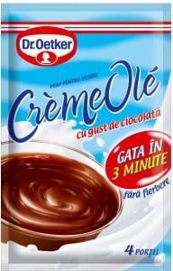 Poza 1 Praf pentru desert Creme Ole Ciocolata Dr. Oetker 75g