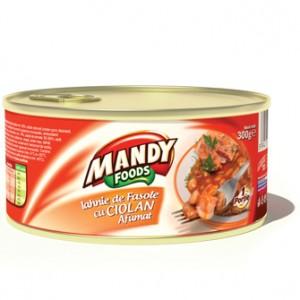 Poza 1 Iahnie de Fasole cu Ciolan Mandy 300g