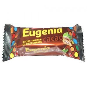 Poza 1 Biscuiti Crema Cacao Eugenia Dobrogea 36g