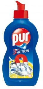 Poza 1 Detergent Vase Pur Balsam Lamaie Tripla Actiune 1.35L