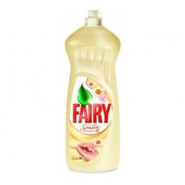Poza 1 Detergent Lichid Spalat Vase Fairy Musetel si Vitamine E 1L