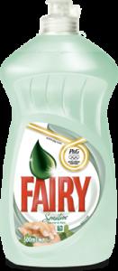 Poza 1 Detergent Lichid Spalat Vase Fairy Ceai si Menta 500ml