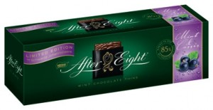 Poza 1 Ciocolata cu Fondant de Coacaze Negre si Menta After Eight Cassis 300g