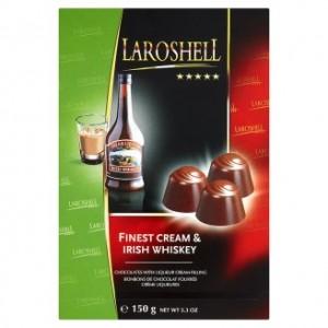 Poza 1 Praline Umplute cu Crema Fina si Whiskey Laroshell 150g