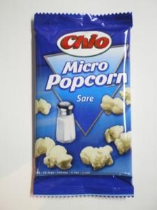 Poza 1 Popcorn Chio Sare Microunde 80g
