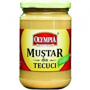 Poza 1 Mustar Iute Olympia Tecuci 300g