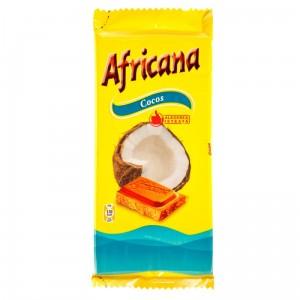 Poza 1 Ciocolata cu Cocos Africana 90g