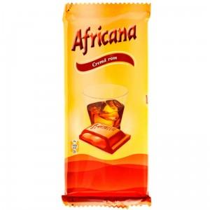 Poza 1 Ciocolata cu Crema Rom Africana 90g