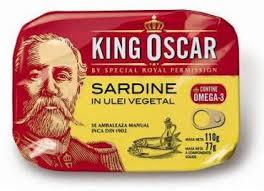 Poza 1 Sardine in Ulei Vegetal King Oscar 110g