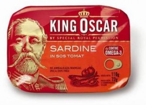 Poza 1 Sardine in Sos Tomat King Oscar 110g