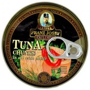 Poza 1 Ton Bucati in Ulei cu Chilli Franz Josef 170g