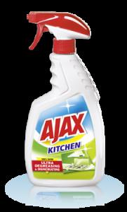Poza 1 Spray Crema Curatare Bucatarie Ajax 100% Shine 500ml