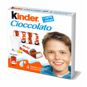 Poza 1 Batoane Ciocolata cu Crema Lapte Kinder 50g