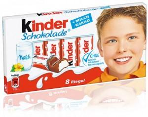 Poza 1 Batoane Ciocolata cu Crema Lapte Kinder 100g