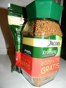Poza 1 Jacobs Kronung Solubila cu Alintaroma Irezistibila 200g+75g GRATIS