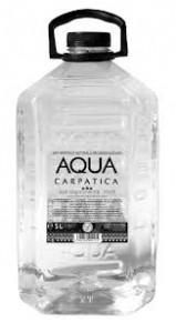 Poza 1 Apa minerala naturala necarbogazoasa Aqua Carpatica 5L